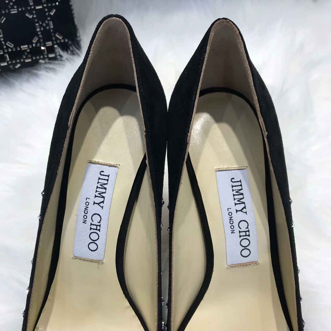 Jimmy Choo女鞋专柜新款高跟鞋 水晶鞋价格
