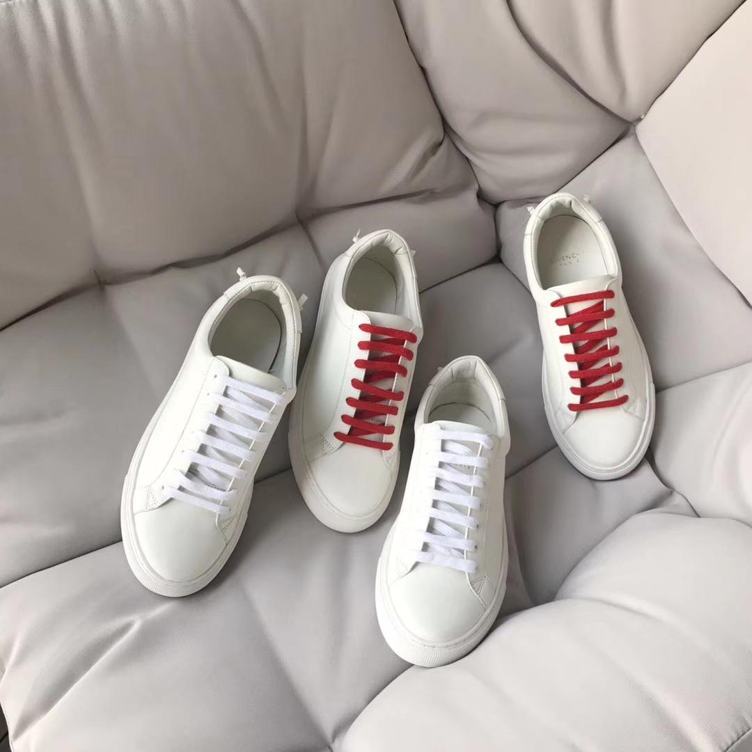 Givenchy休闲女鞋 真皮小白鞋