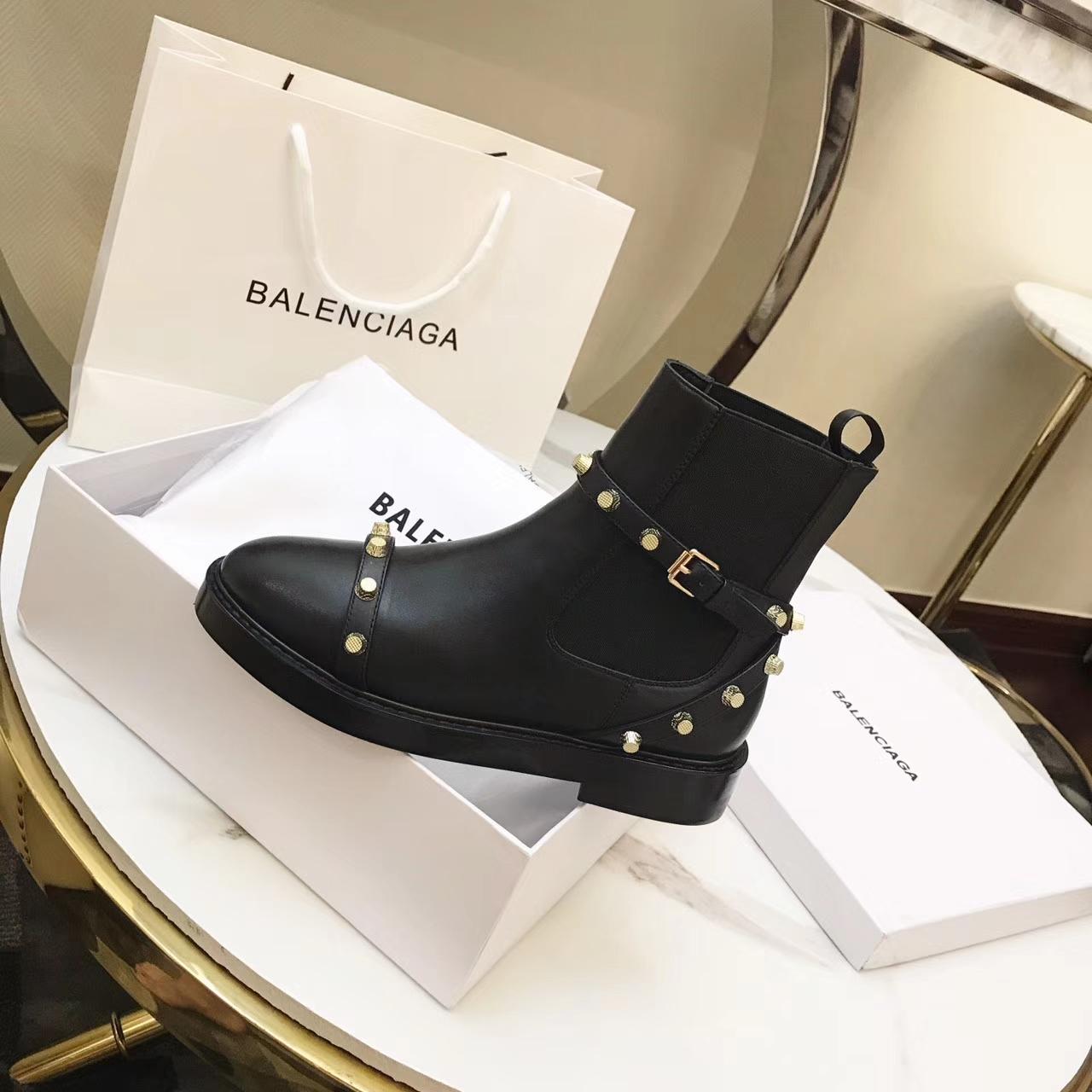 【BALENCIAGA短靴】17SS 秋冬巴黎世家马丁靴