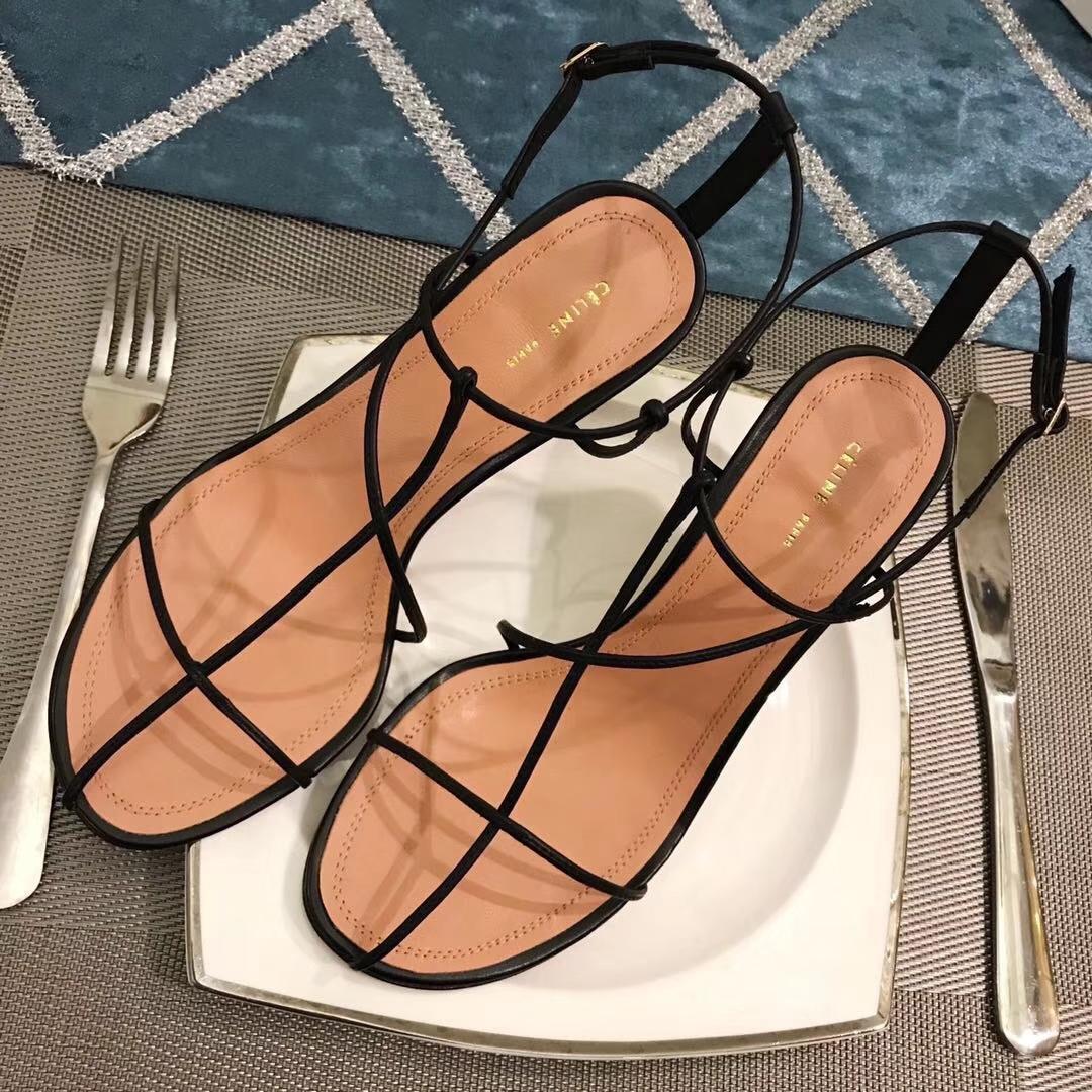 Celine赛琳女鞋2018官网主推款凉鞋