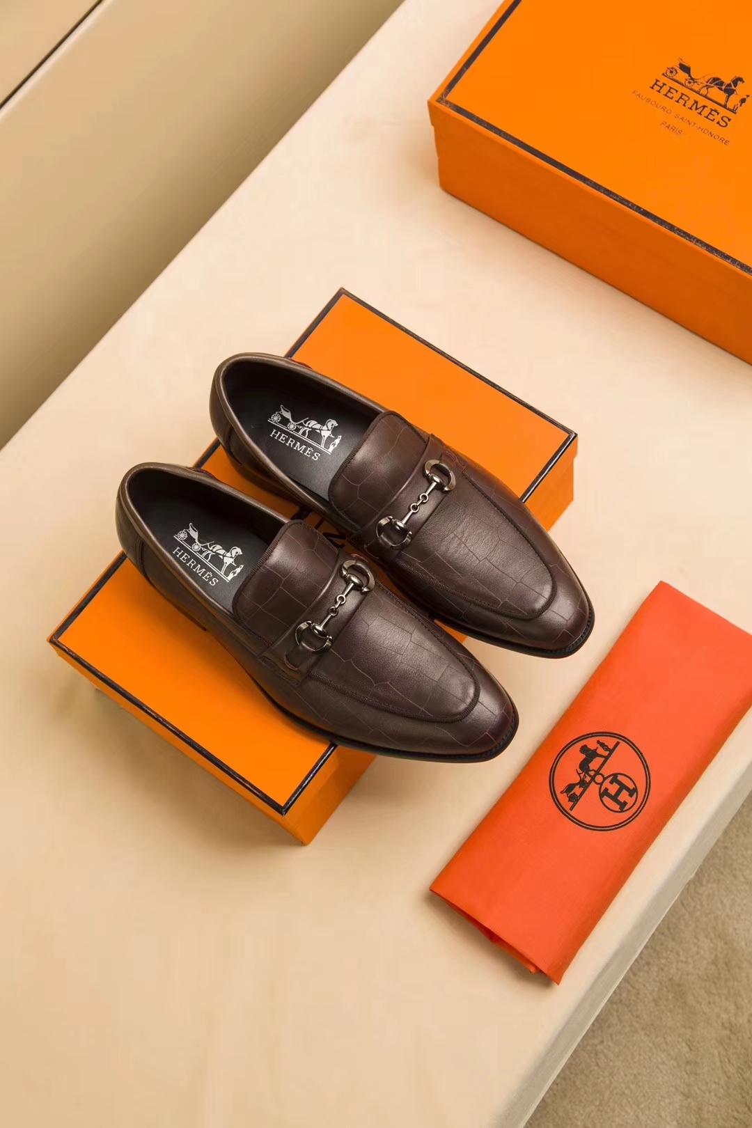 LoulsVultton皮鞋 代购级别LV男士皮鞋专柜同步发售