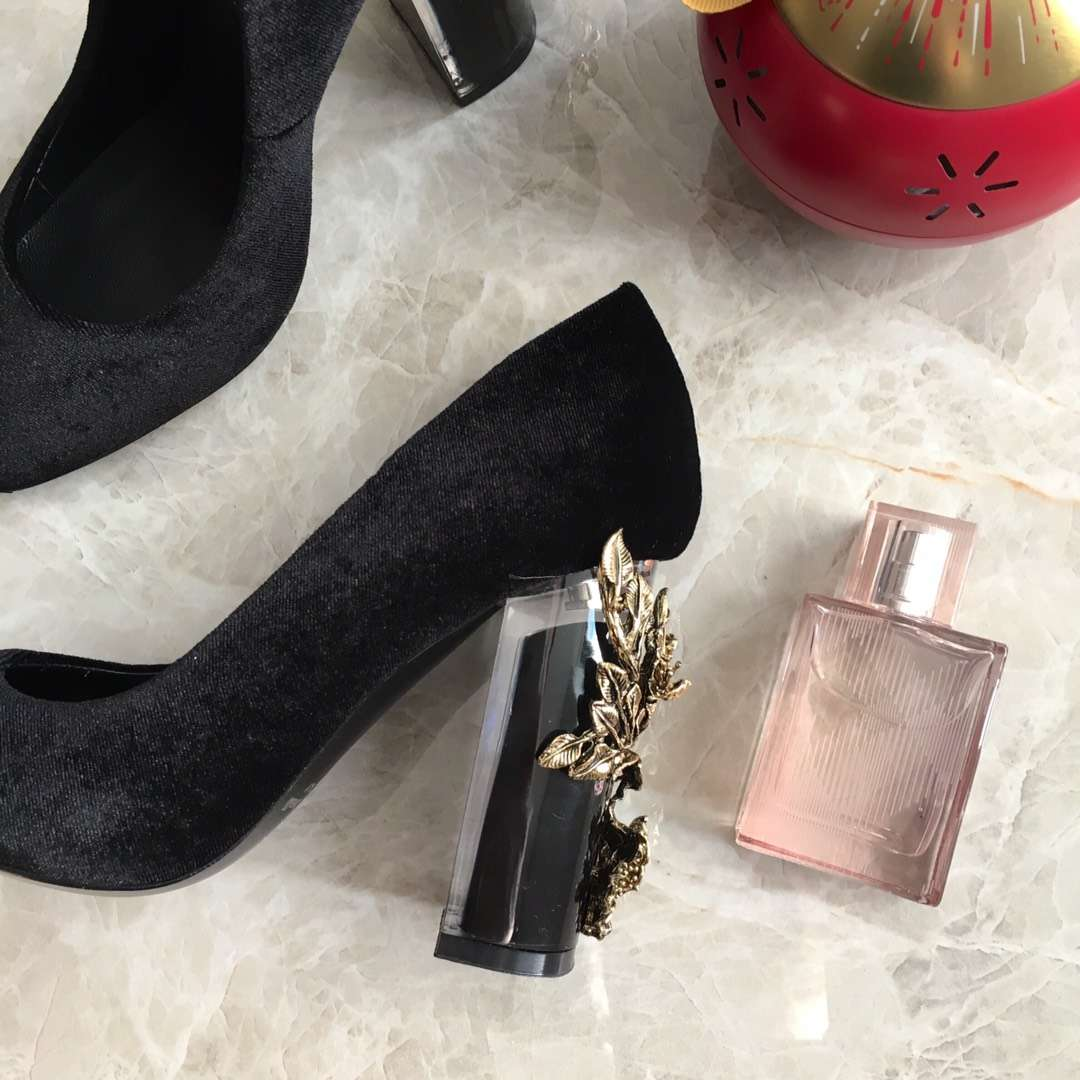 【Roberto Cavalli】专柜同款高级订制高跟鞋