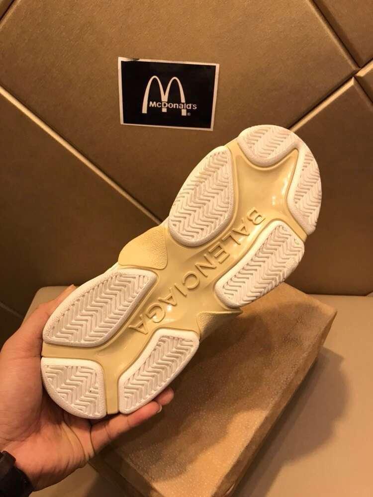 巴黎世家休闲鞋 秋冬 Balenciaga 情侣款运动鞋