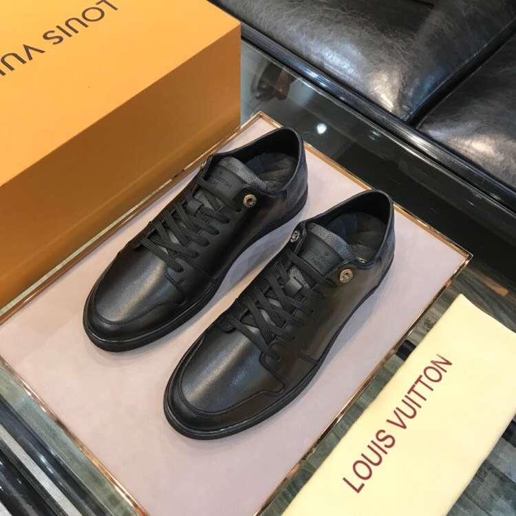 【Louis Vuitton】LV经典男士平底休闲款_板鞋