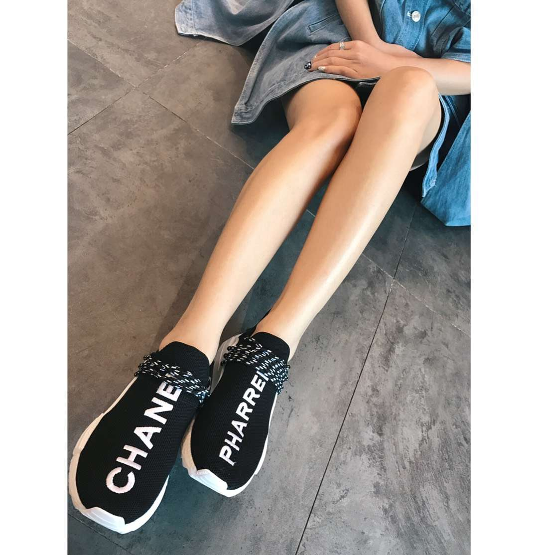 chanel x Pharrell x adidas Originals NMD 香奈儿 菲董联名情侣款
