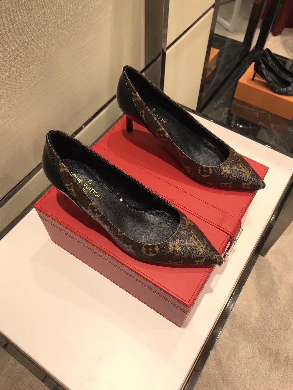 《louis vuitton》LV2018香港专柜同步发售高跟鞋单鞋