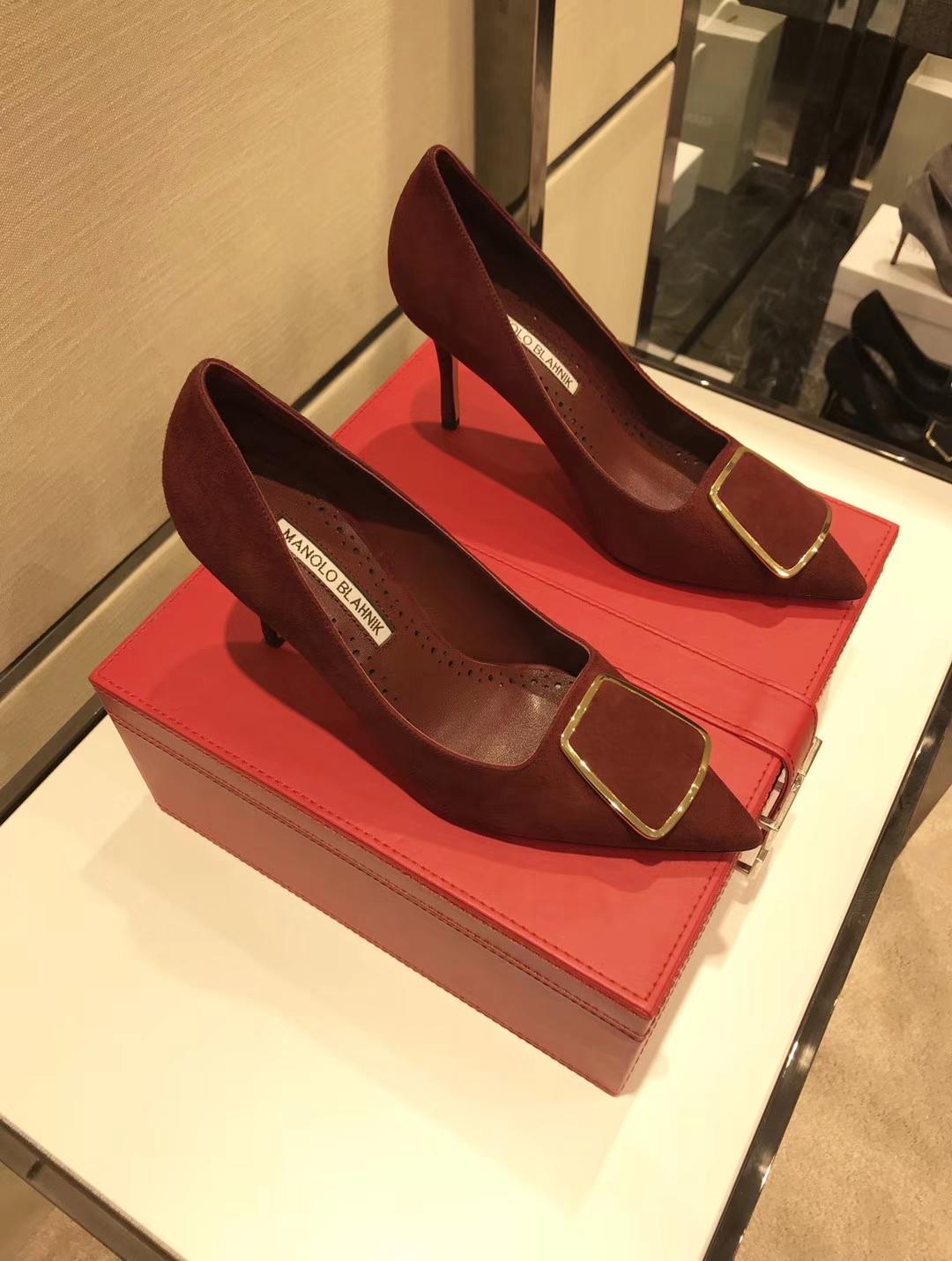 MANOLO BLAHNIK MB2018款时尚高跟鞋香港专柜同步发售