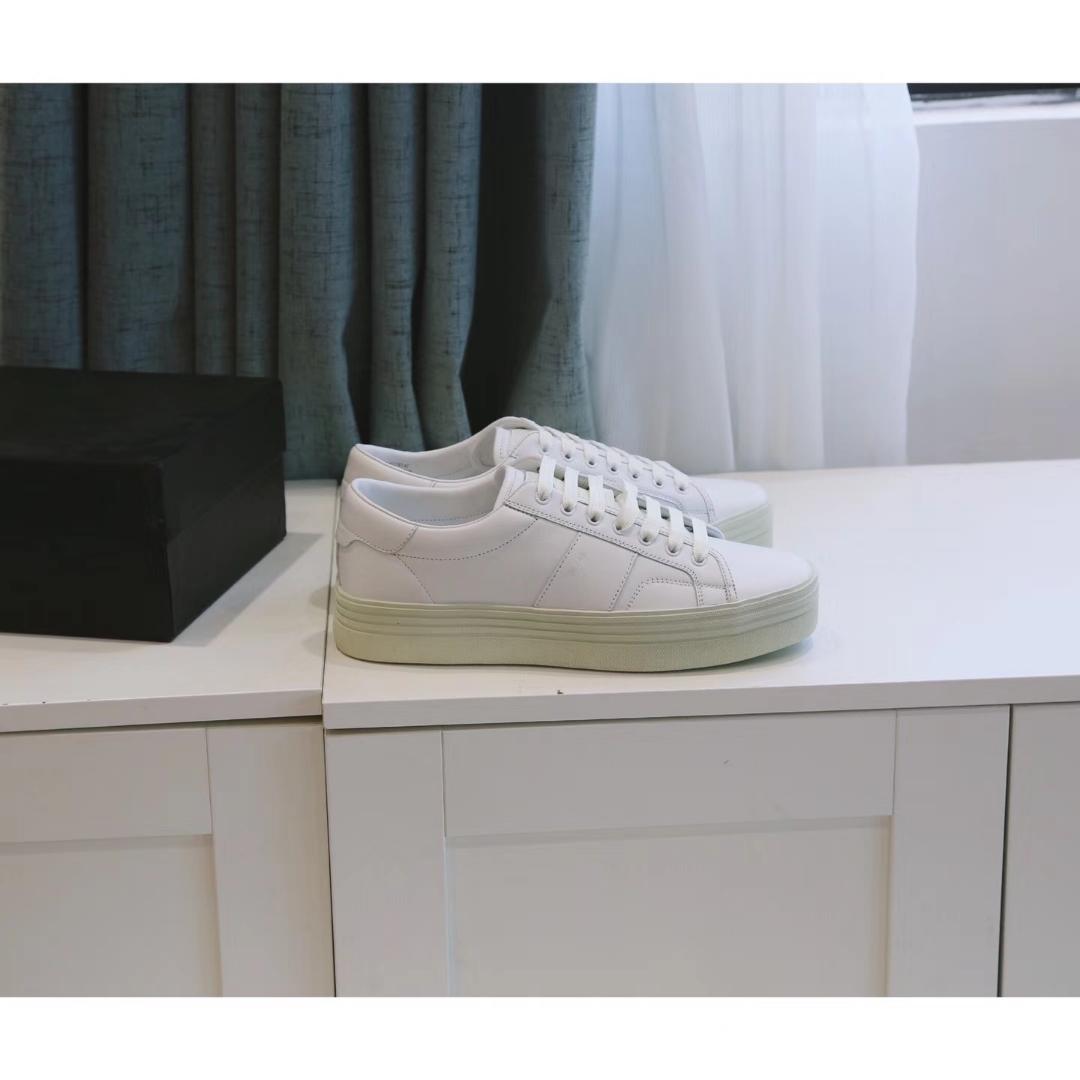 圣罗兰Slp休闲鞋很诱人的增高5cm 小白鞋