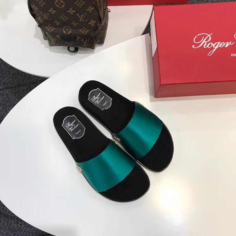 Roger Vivier 】RV2018夏季新品拖鞋