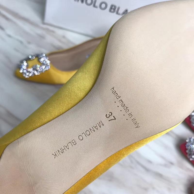 马诺洛MANOLO BIANIK]MB经典中跟水钻女鞋