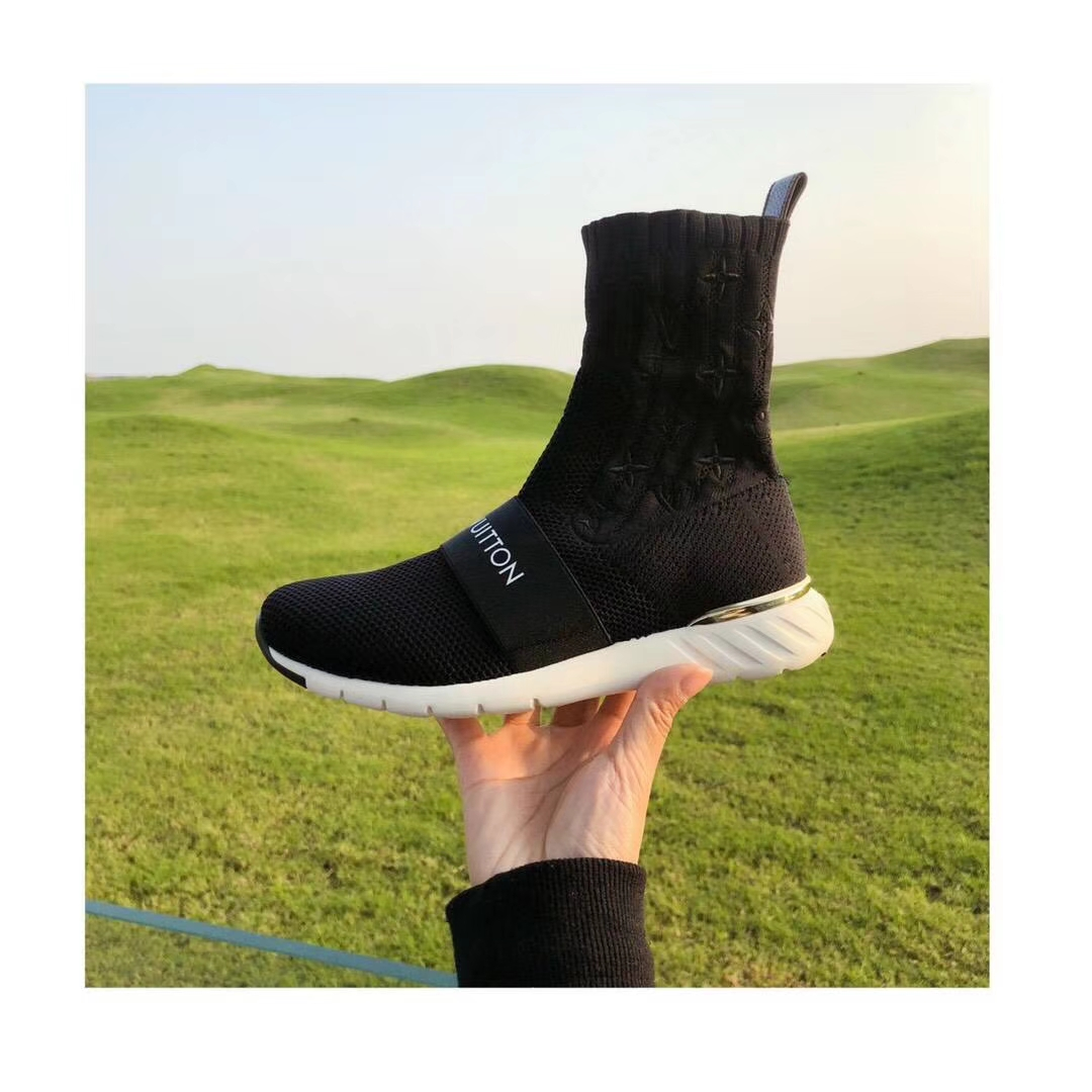 LV 2018早春新款袜子鞋 休闲鞋女鞋