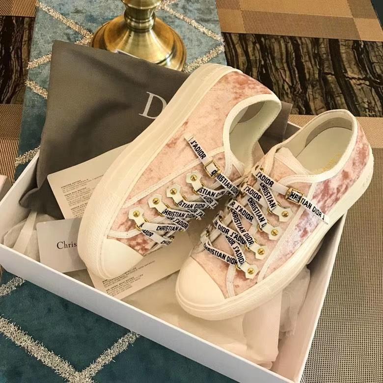 Dior 2018早秋秀款sneakers罗马系带风格 运动鞋 百搭小白鞋