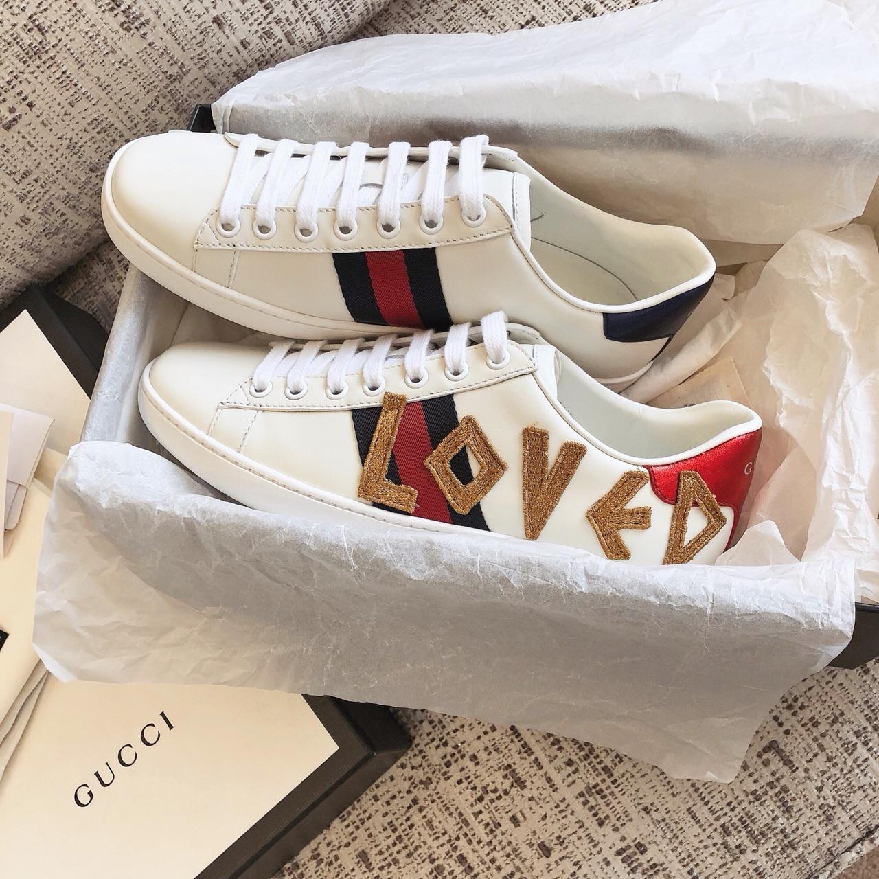 GUCCI小白鞋贸易公司出品 支持专柜验货!