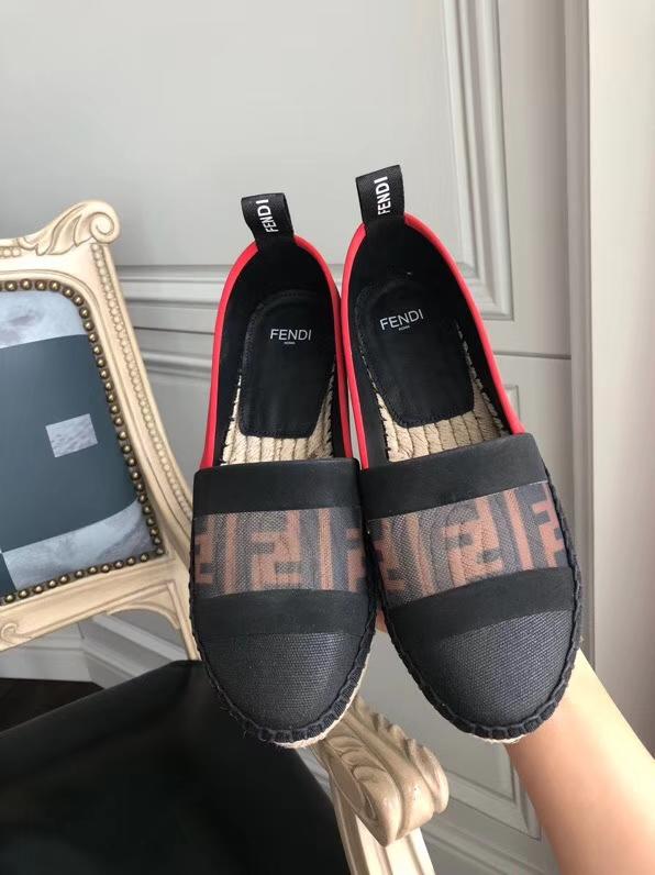 代购级 FENDI 2018新款渔夫鞋