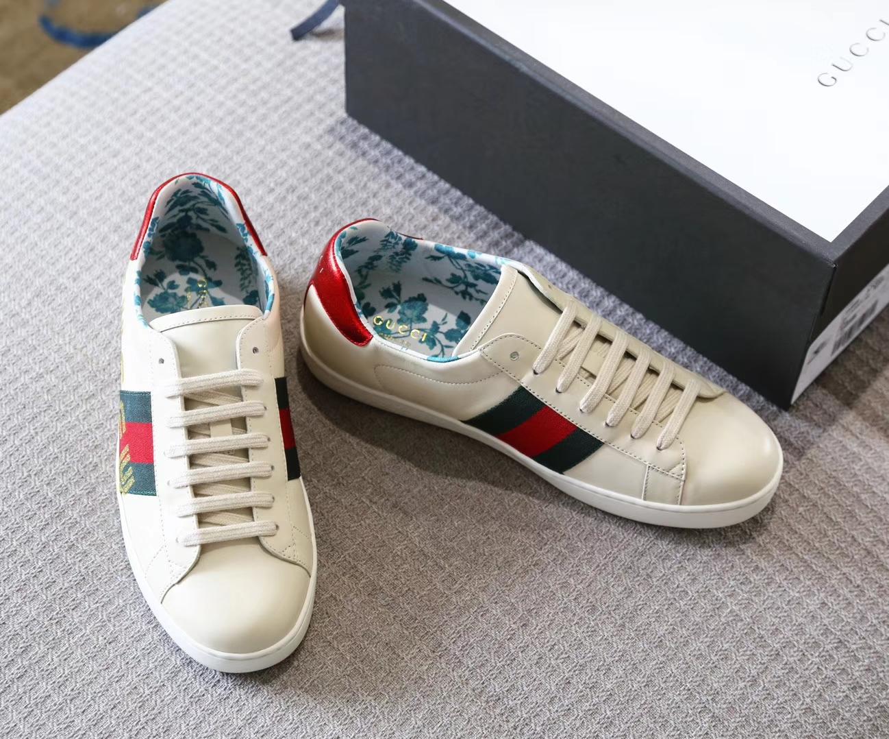 (原单品质)GUCCI异想天开创意小白鞋