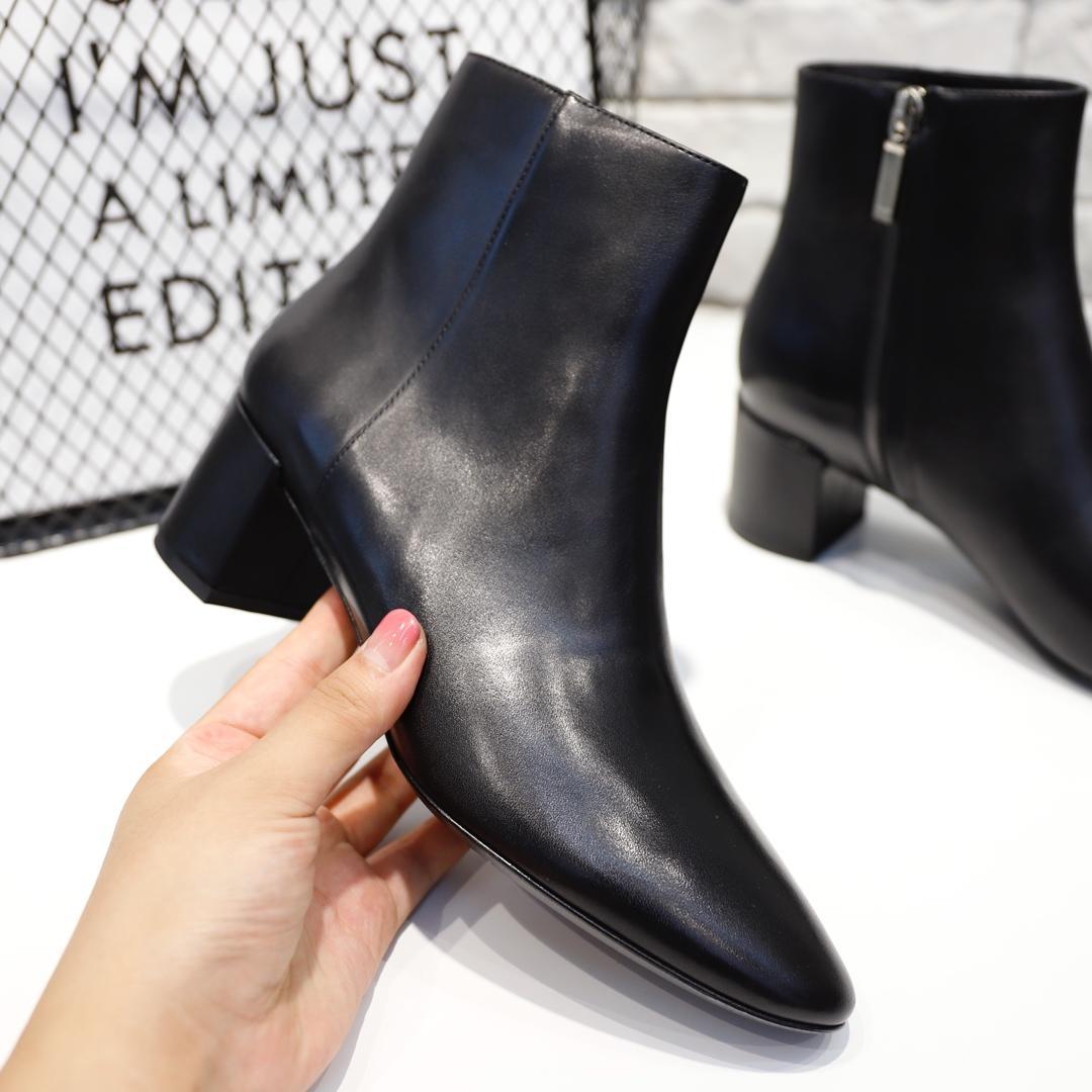 圣罗兰官网鞋子同款YSL短靴 SAIN TLAURENT女鞋