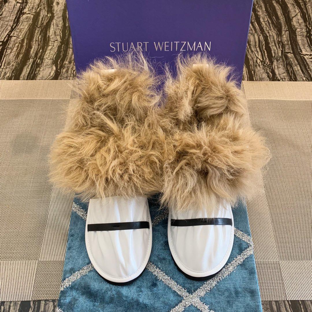 Stuart Weitzman雪地靴 2018 爆款短靴 时尚简约大气雪地靴