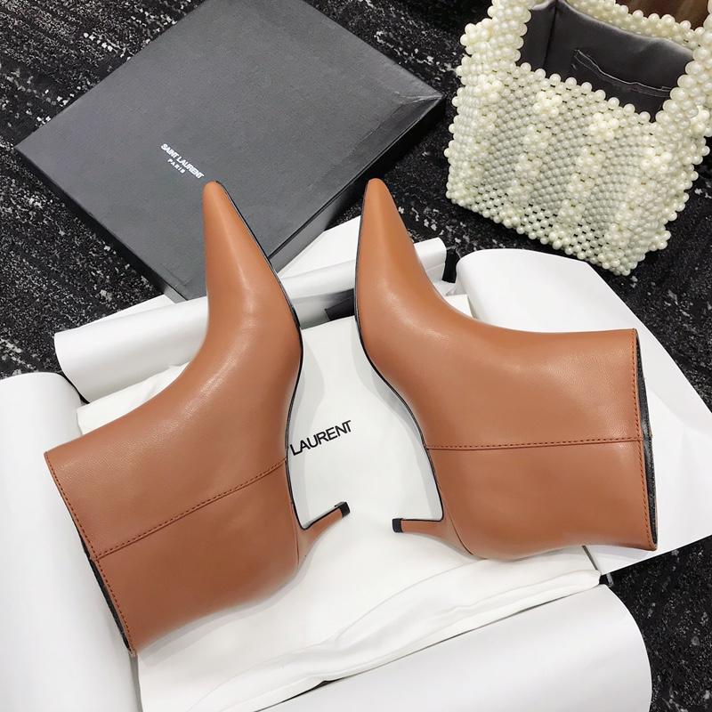 Saint Laurent短靴 圣罗兰18秋冬真皮短靴系列 一款舒适的新款短靴