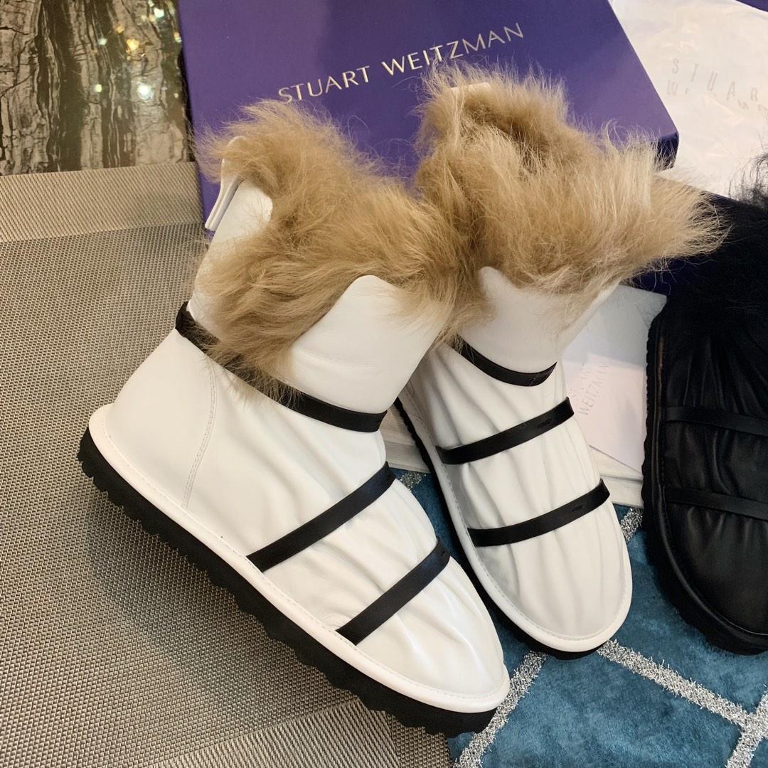 Stuart Weitzman 2018爆款短靴 时尚简约大气SW雪地靴