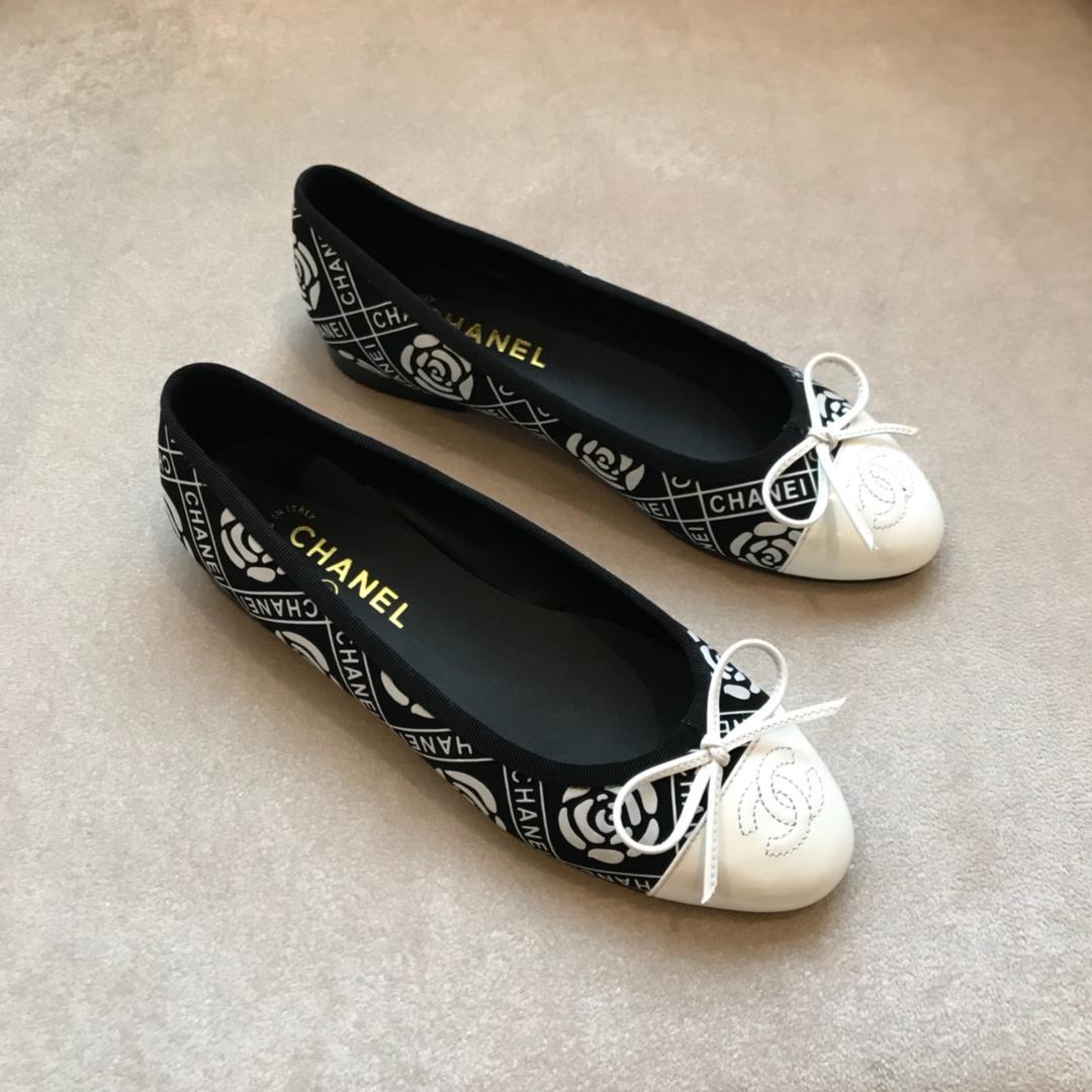 香奈儿平底单鞋顶级版本CHANEL经典单鞋正品1:1定制