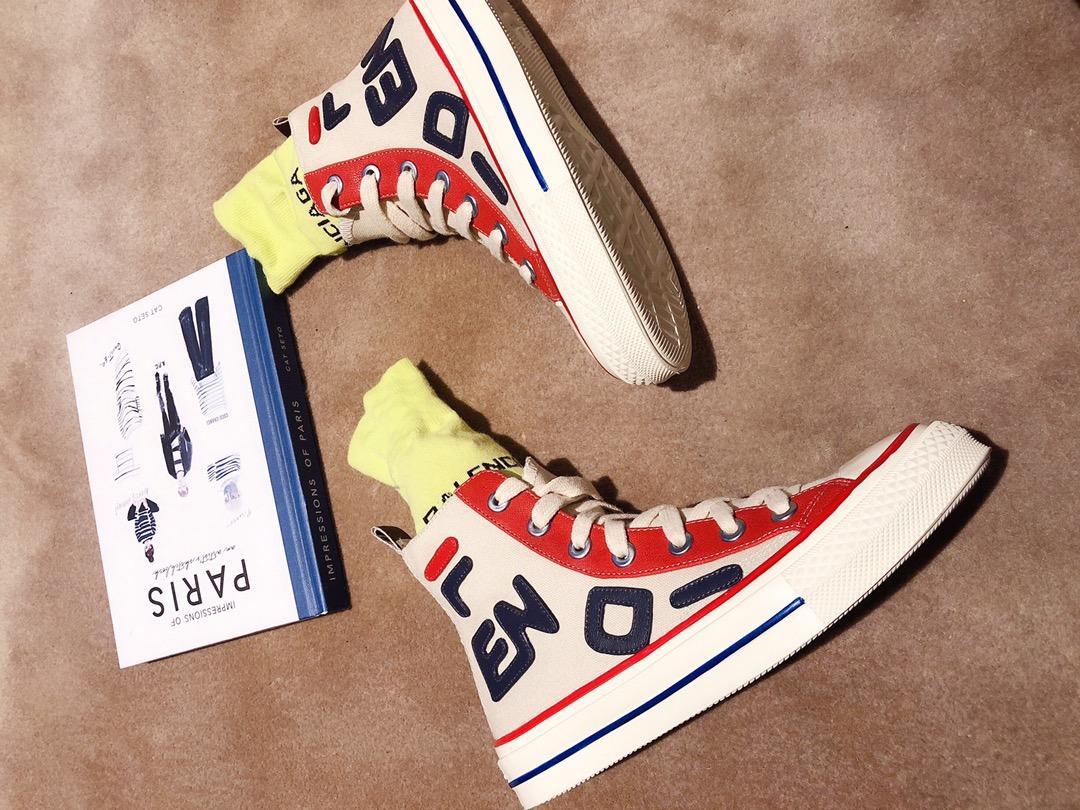 F&C合作款高帮帆布鞋Zucca女式帆布鞋