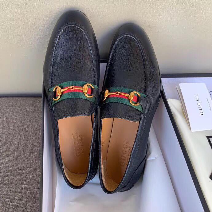 顶级代购品质古驰男鞋 专柜同款GUCCI休闲皮鞋