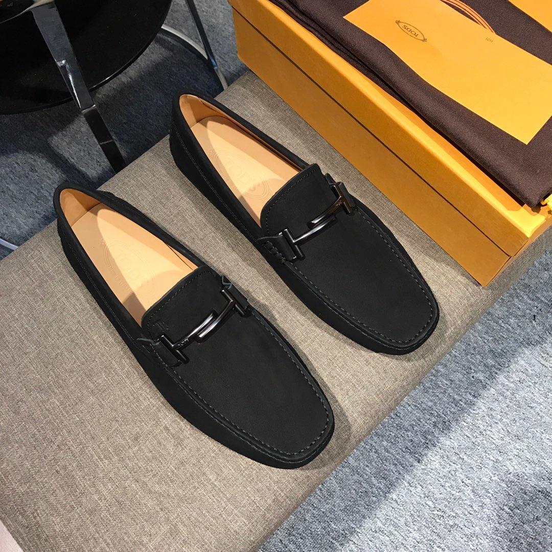 托德斯专柜新款豆豆鞋 tods托德斯纯手工豆豆男鞋 开车鞋