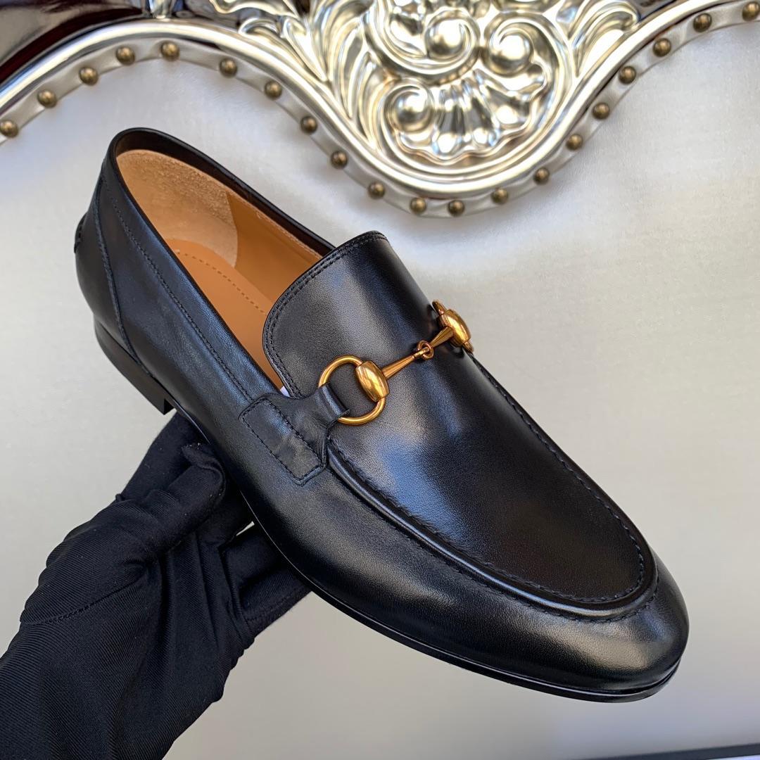 古奇男士皮鞋顶级代购品质 古驰男鞋专柜同步GUCCI正装皮鞋