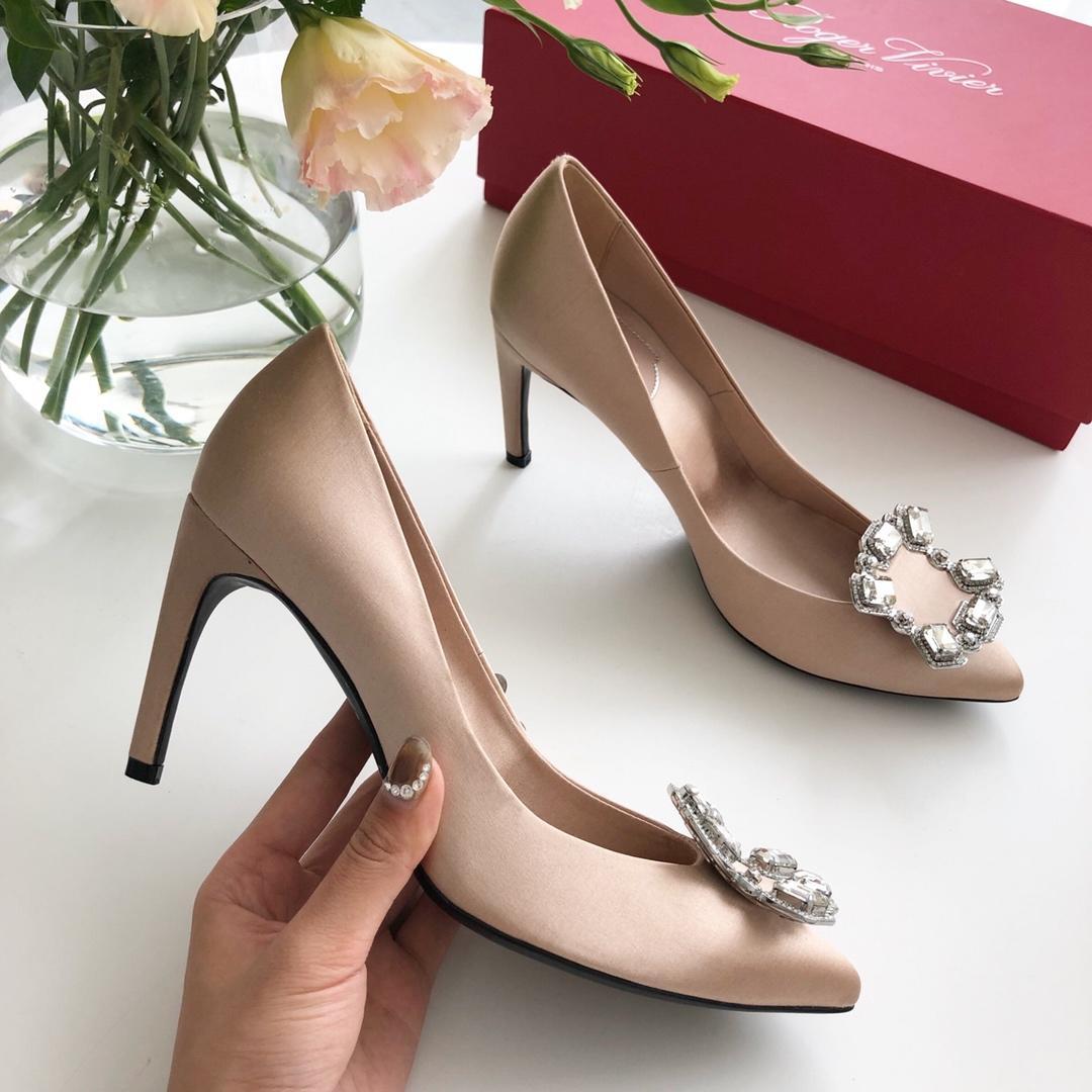 Roger Vivier宝石高跟鞋 RV女鞋高跟鞋 RV婚鞋