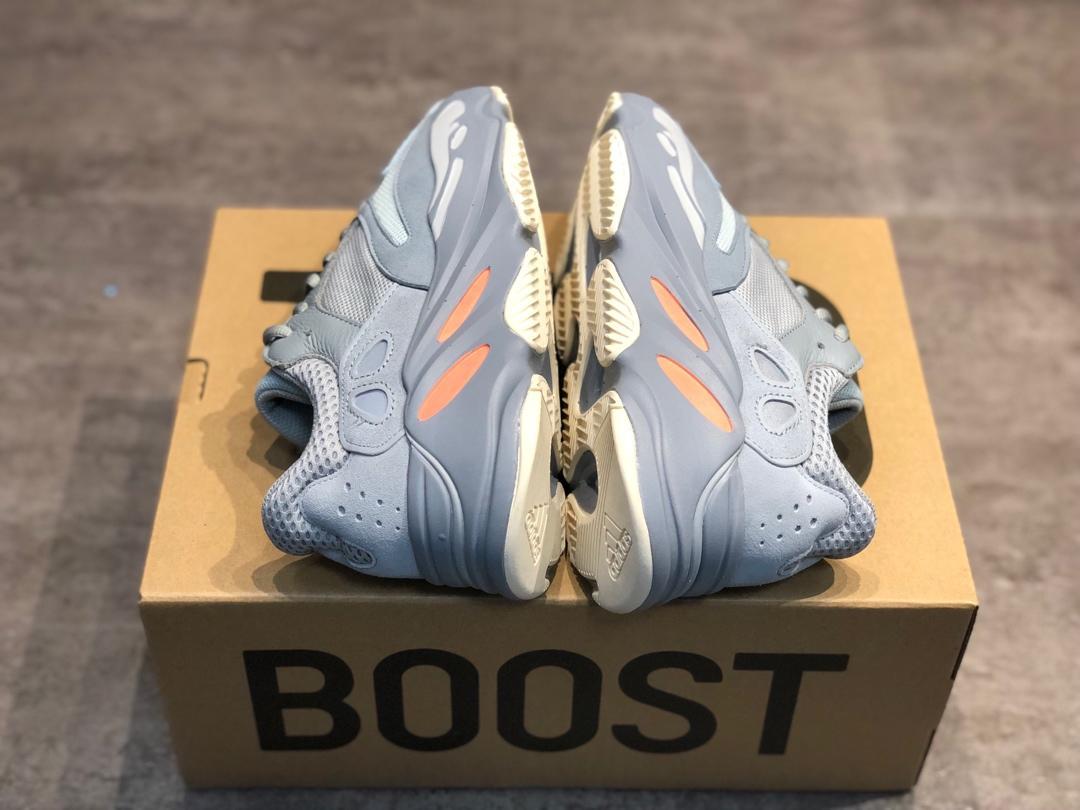 Kanye West x Adidas Yeezy Runner Boost 700复古爆米花中底姥爷慢跑鞋