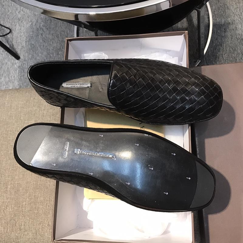 宝缇嘉正装皮鞋 Bottega Veneta全手工编织男鞋 代购级别便鞋