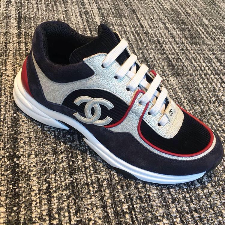 香奈儿女士休闲鞋 Chanel最美休闲运动鞋 顶级代购版本