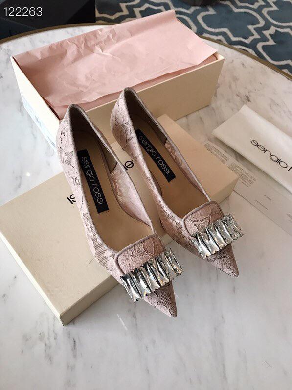 sergio rossi女鞋 2019新款单鞋原版开模历时4个月开发