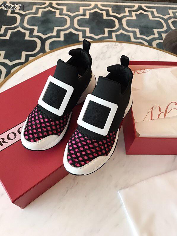 RV代购品质休闲运动鞋 Roger VIVIER休闲女鞋 明星同款运动鞋