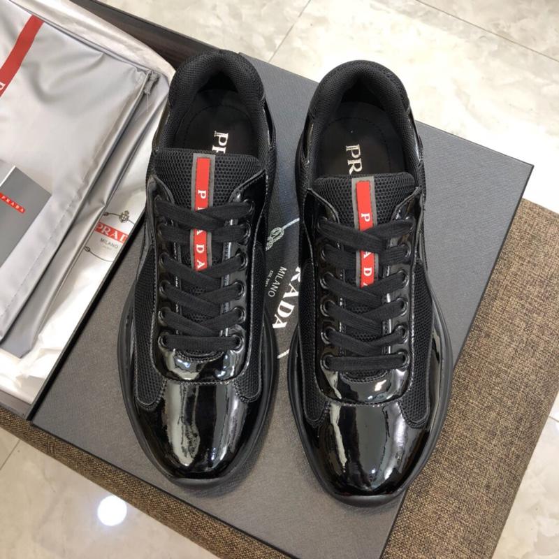 PRADA男士休闲鞋经典款!普拉达原单品质休闲男鞋
