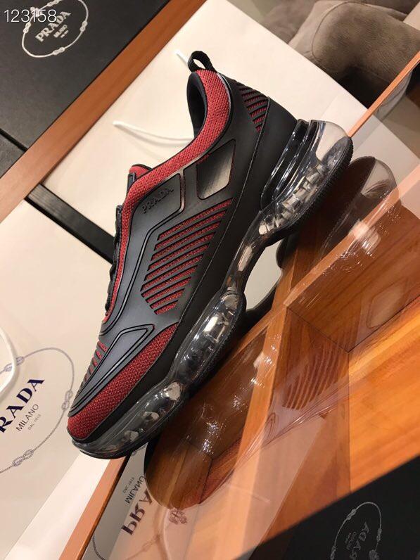 Prada运动鞋 普拉达2019新款男士休闲运动鞋