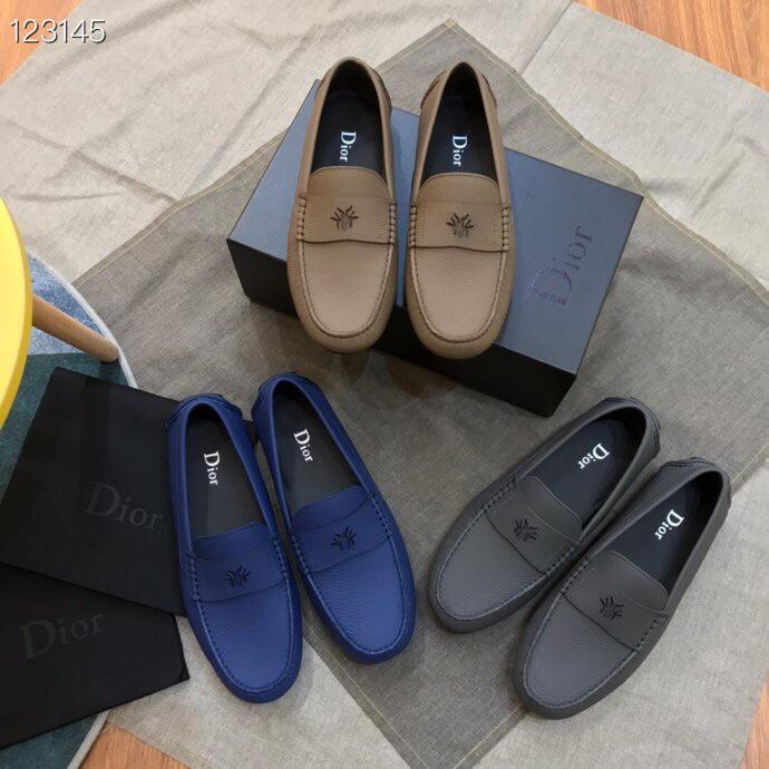 dior豆豆鞋 迪奥2019新款男士休闲鞋