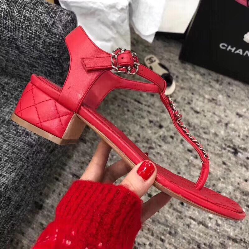 香奈儿凉鞋 2019 Chanel官网最新款凉鞋