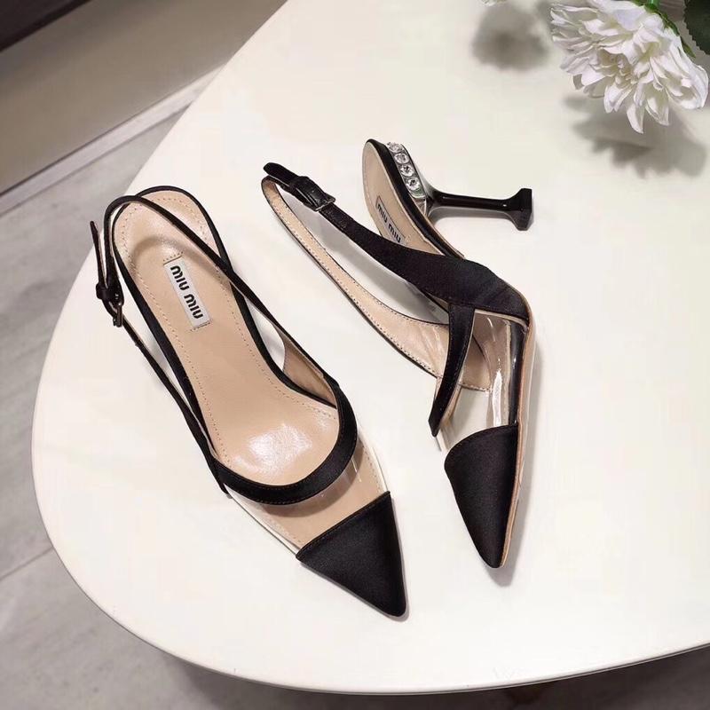 2019新款MiuMiu 限量款公主淑女气质凉鞋