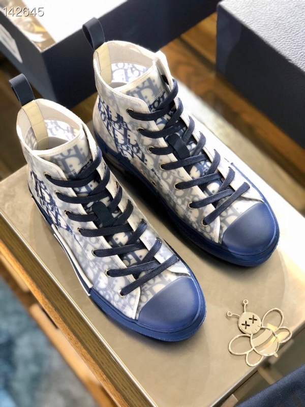 Dior Oblique男士高帮运动休闲鞋