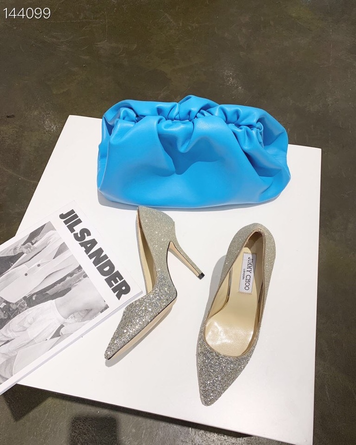 JIMMYCHOO 2020初春新款亮片高跟鞋