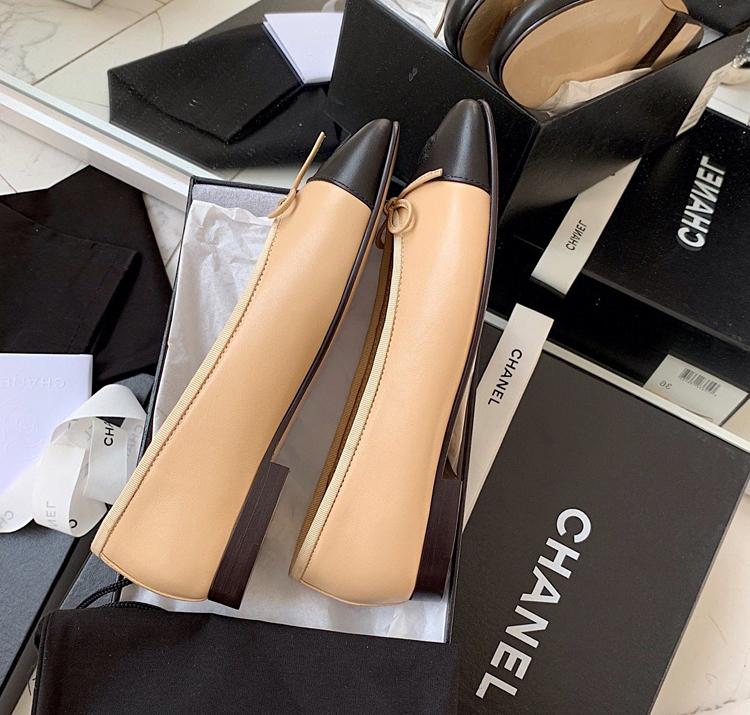 CHANEL经典款平底单鞋 原版开发正品开模顶级品质