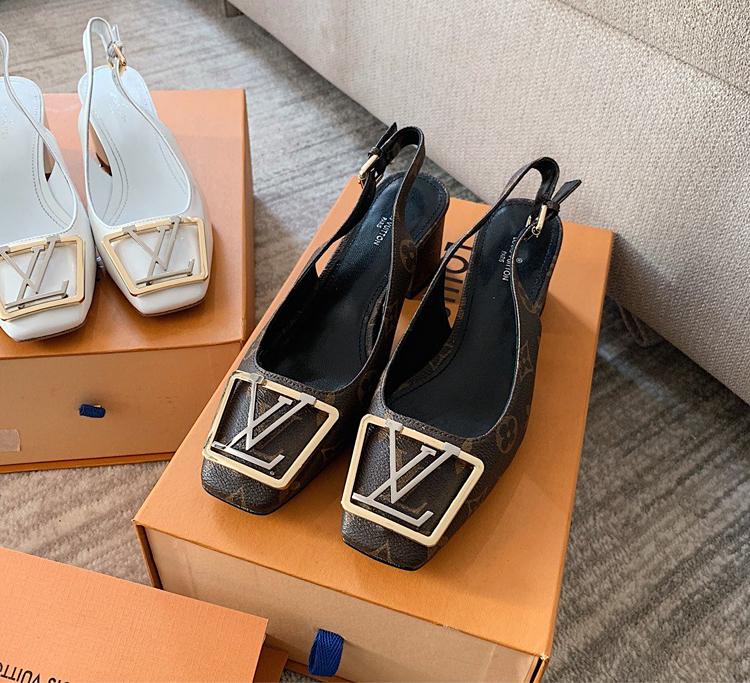 【LV凉鞋】Louis Vuitton 2020早春MADELEINE系列高跟凉鞋