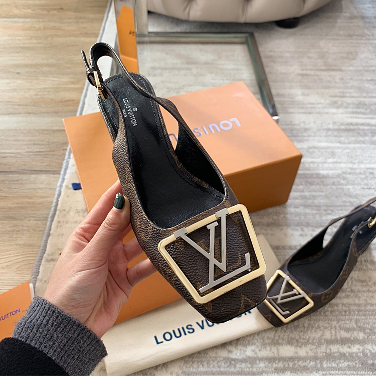 【LV凉鞋】Louis Vuitton 2020早春MADELEINE系列高跟凉鞋