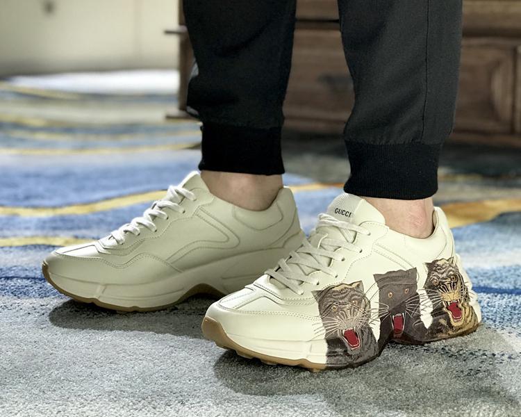 高仿GUCCI老爹鞋 最高版本老爹鞋 古驰情侣款运动鞋