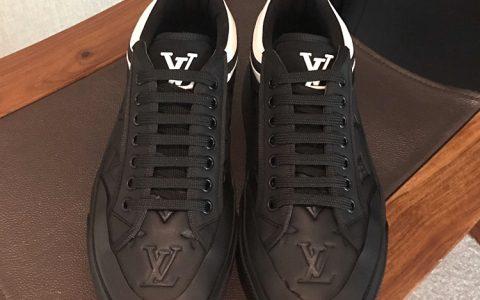 LV代购级别高端男士休闲鞋 LV新款休闲板鞋