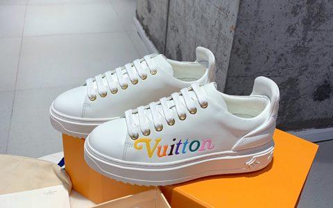 LOUIS VUITTON女休闲鞋 2019秋冬新品彩色字母休闲鞋