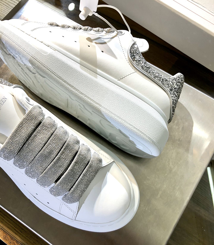 Alexander McQueen麦昆情侣款小白鞋 专柜新款官网同步发售
