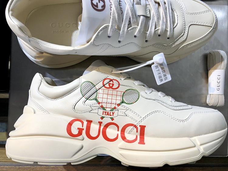 新款GUCCI老爹鞋 古奇高仿古驰情侣款老爹鞋