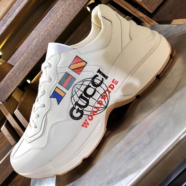 GUCCI老爹鞋 古奇Rhyton系列运动鞋 高仿古驰情侣款老爹鞋
